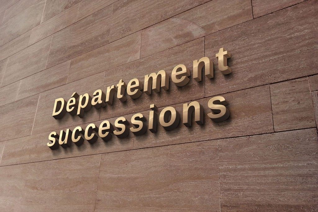 Etude notariale Département successions