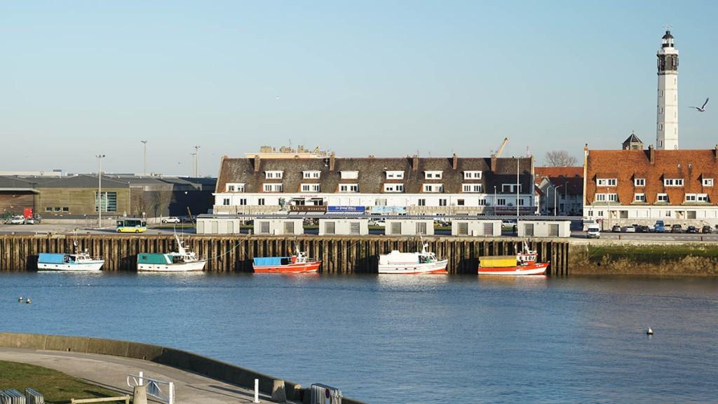 Port de Calais - Bateaux de pêche