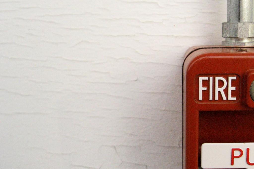 Détecteur de fumée alerte incendie