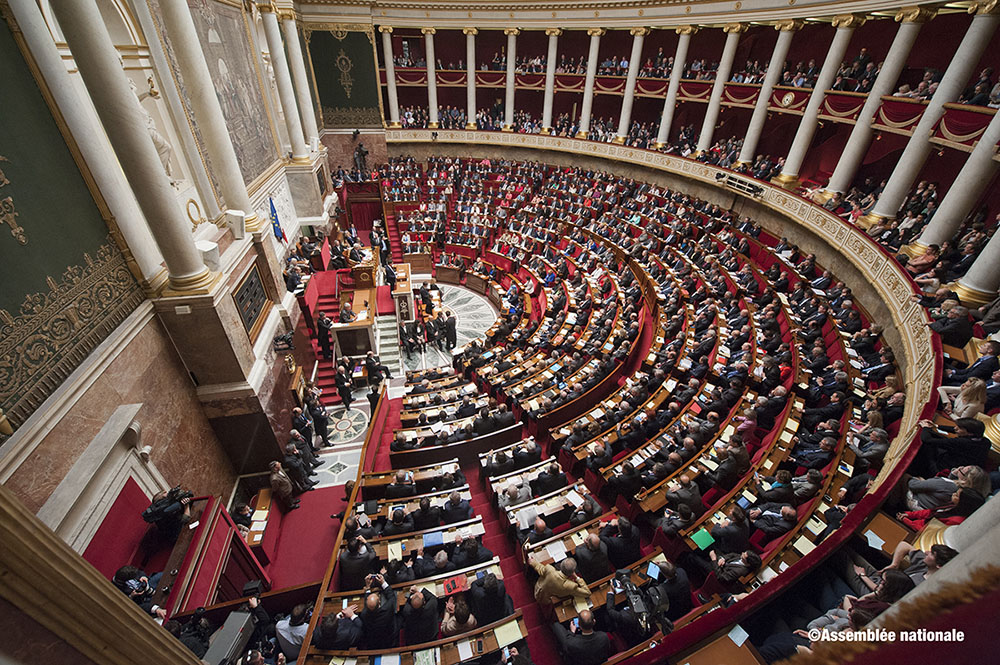 Hémicycle Assemblée nationale