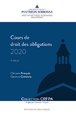 Cours de droit des obligations 2021 (Manuel CRFPA)
